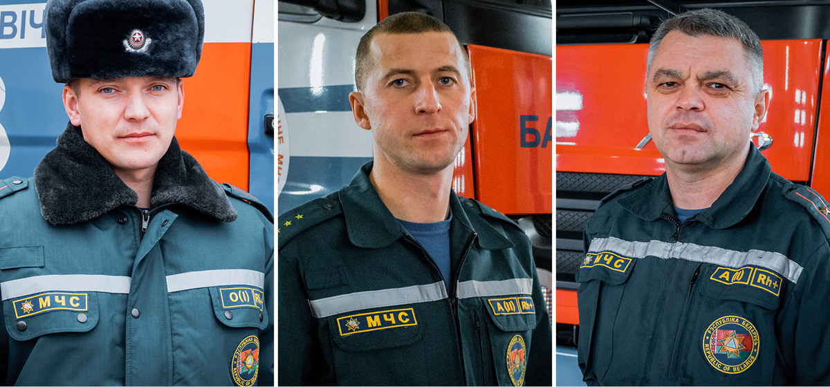 Сергей Киселевич, Павел Шуляк, Олег Лебедев