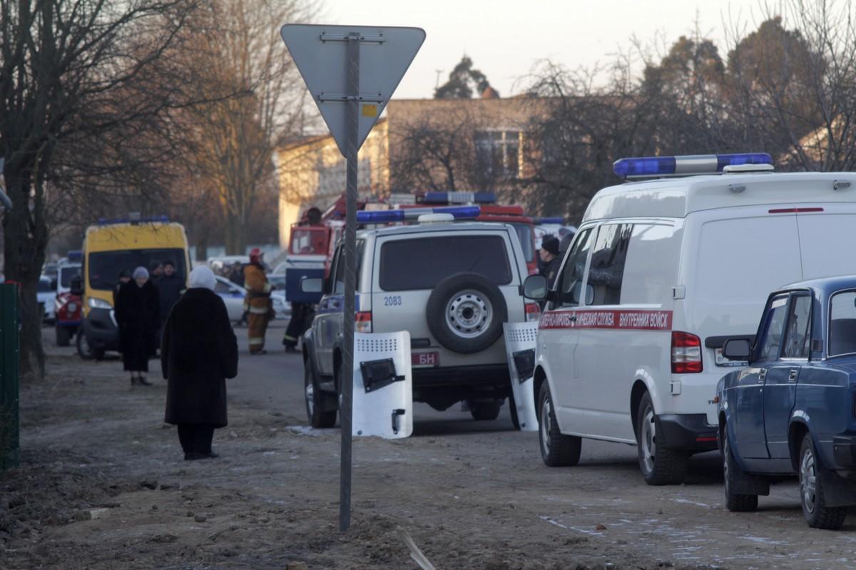 15 января. 1-й переулок Водопроводный. Фото Intex-press предоставил очевидец