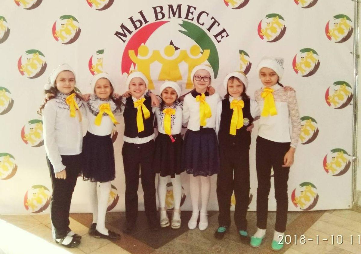 Юные музыканты из Барановичского района.