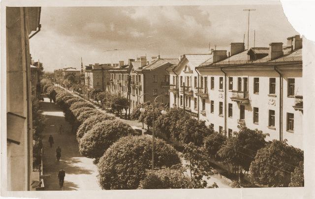 1958 год. ул. Советская