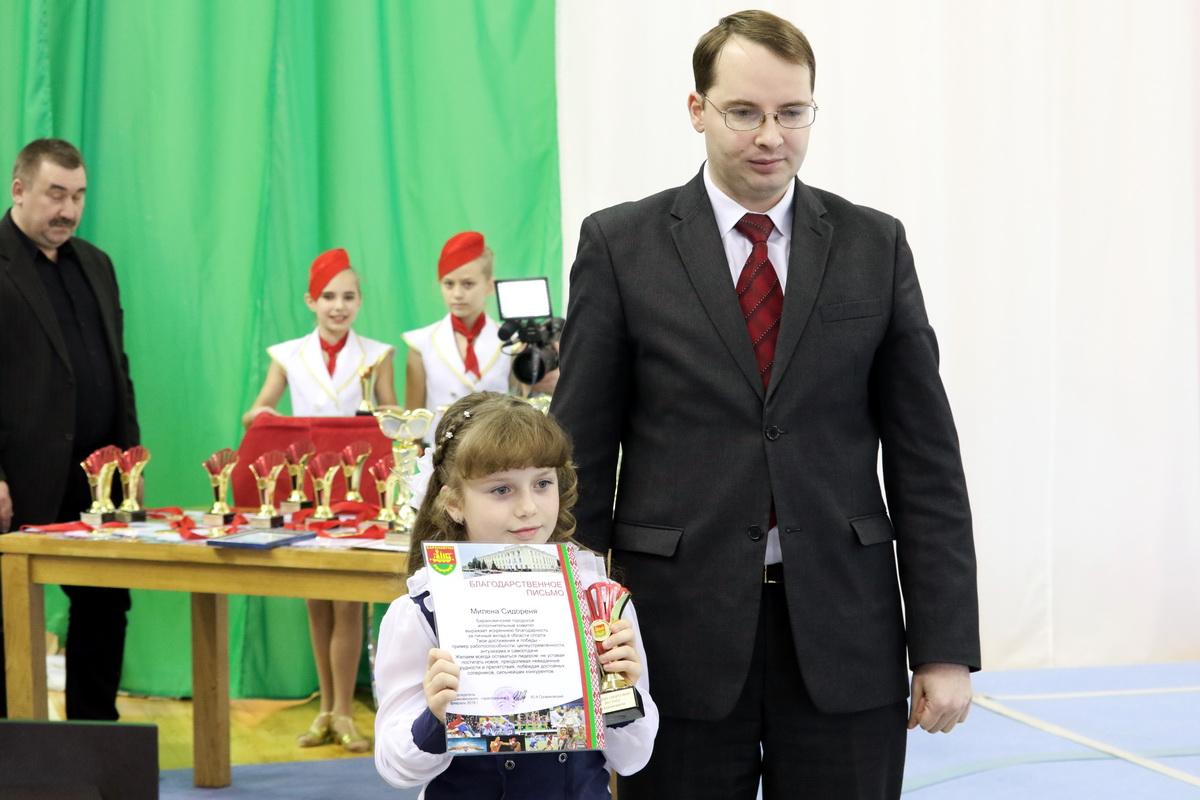 Милена Сидореня сама юная спортсменка по итогам года. Фото: Александр ЧЕРНЫЙ