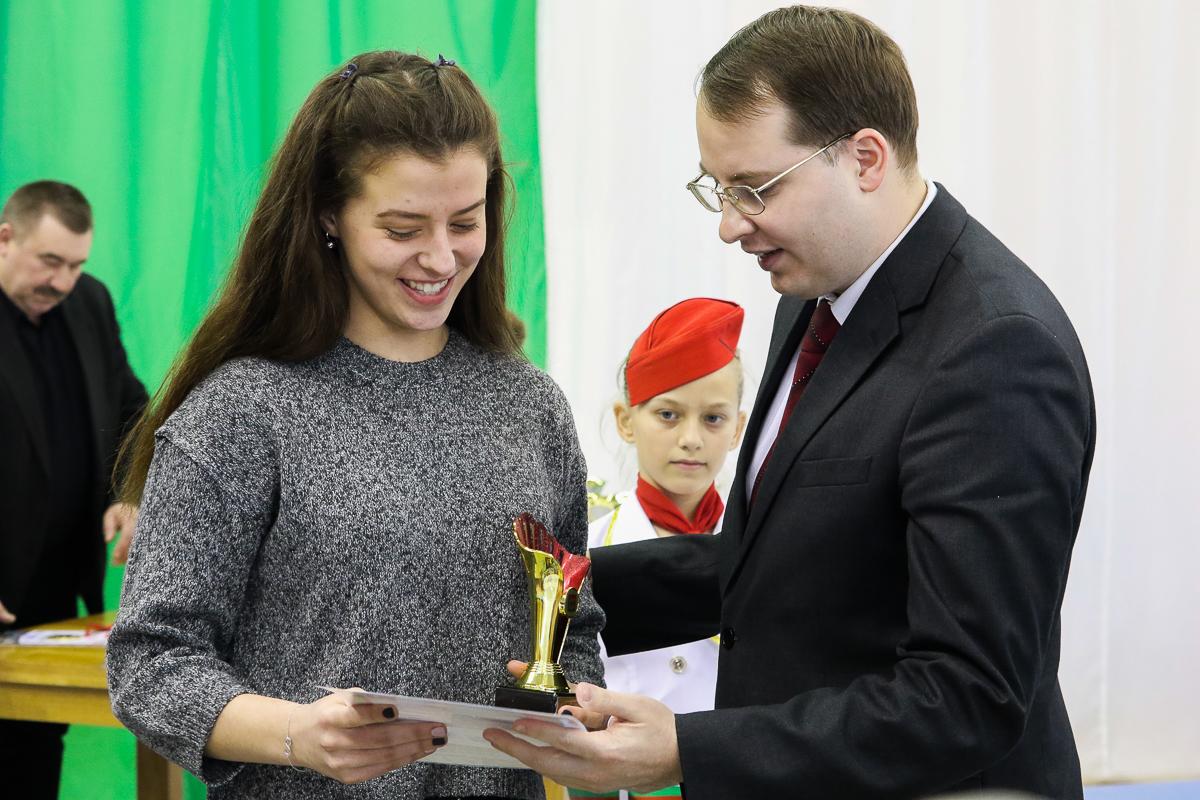 Награждается Мария Курбеко.
