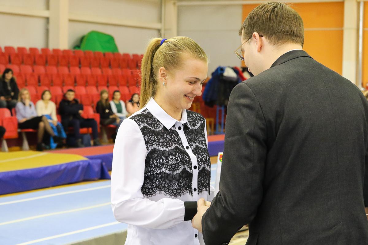 Награждается Наталья Штин.