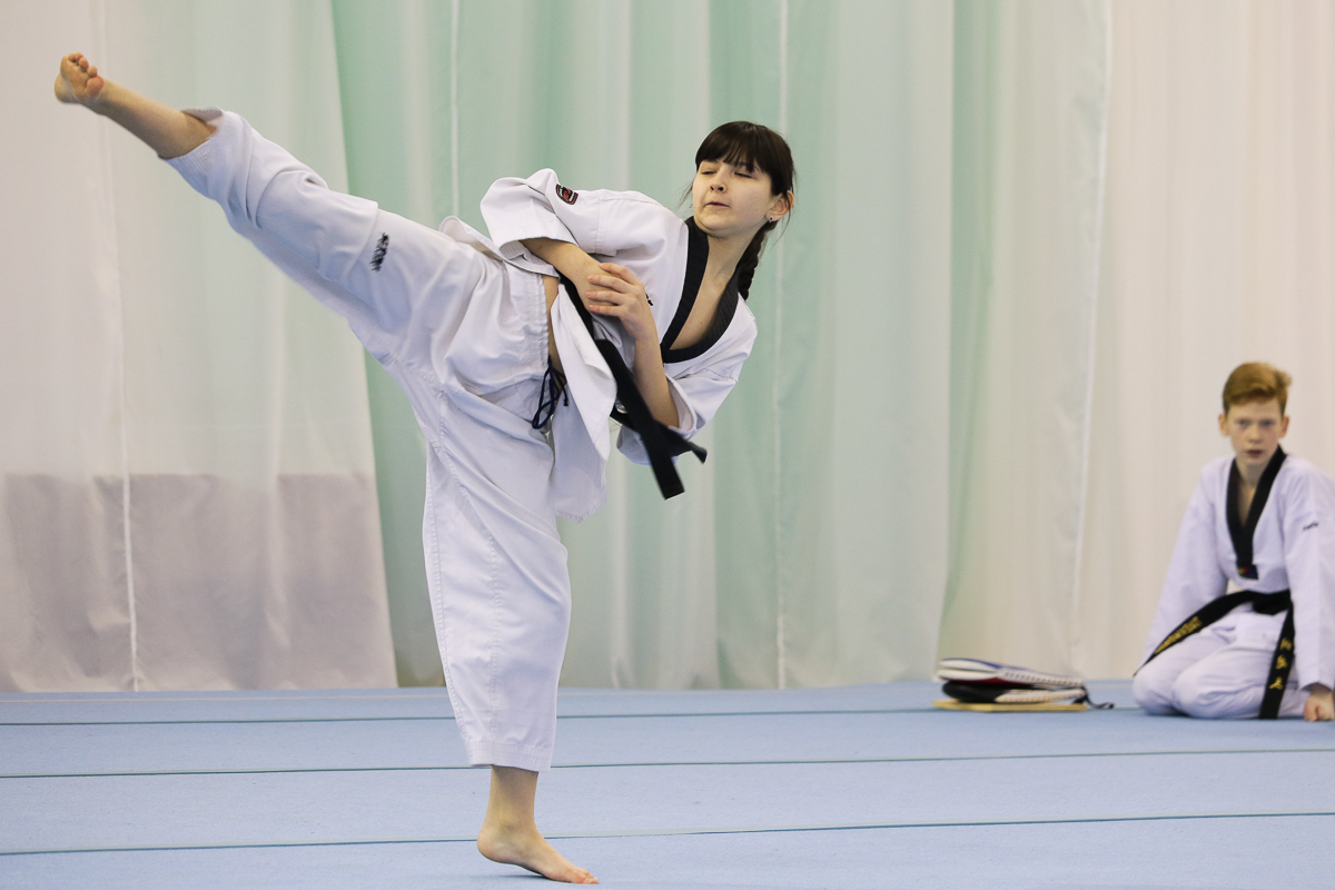 Свое мастерство демонстрировали учащиеся городских спортивных школ.