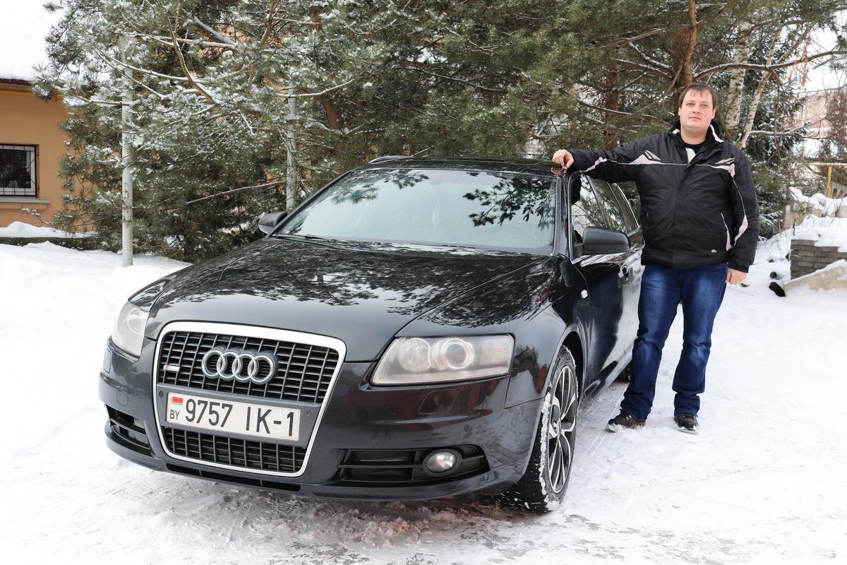 Владелец автомобиля  Audi A6 C6 2006 года выпуска Евгений Мезько. Фото: Александр ЧЕРНЫЙ