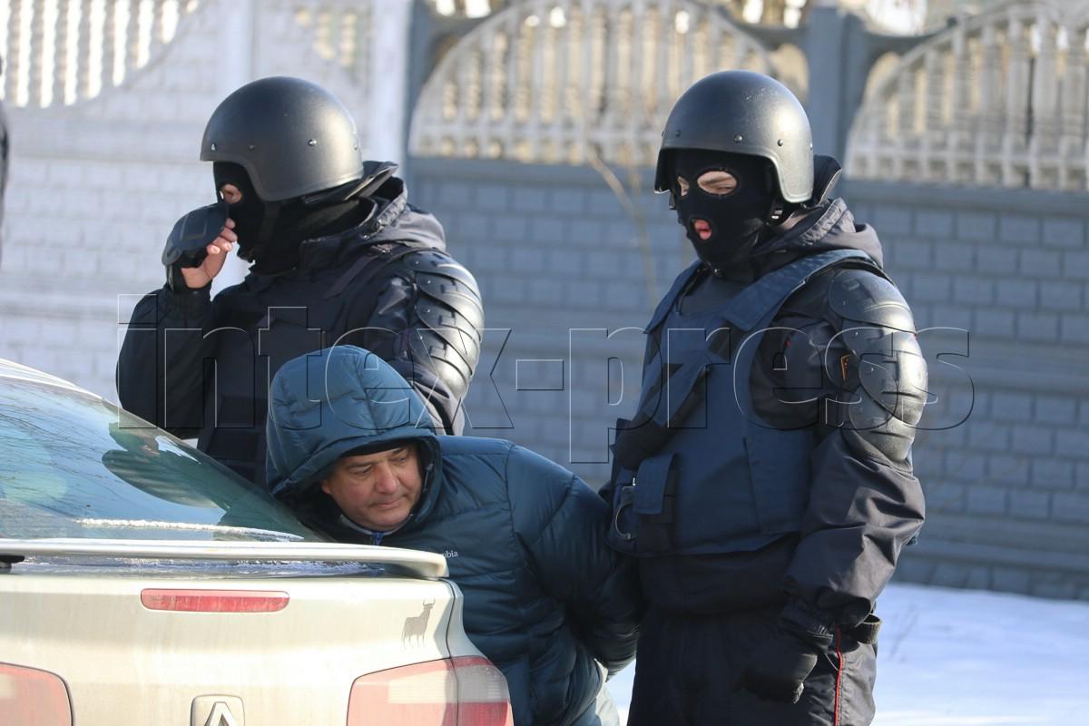 Задержание Виталия Кадышина.