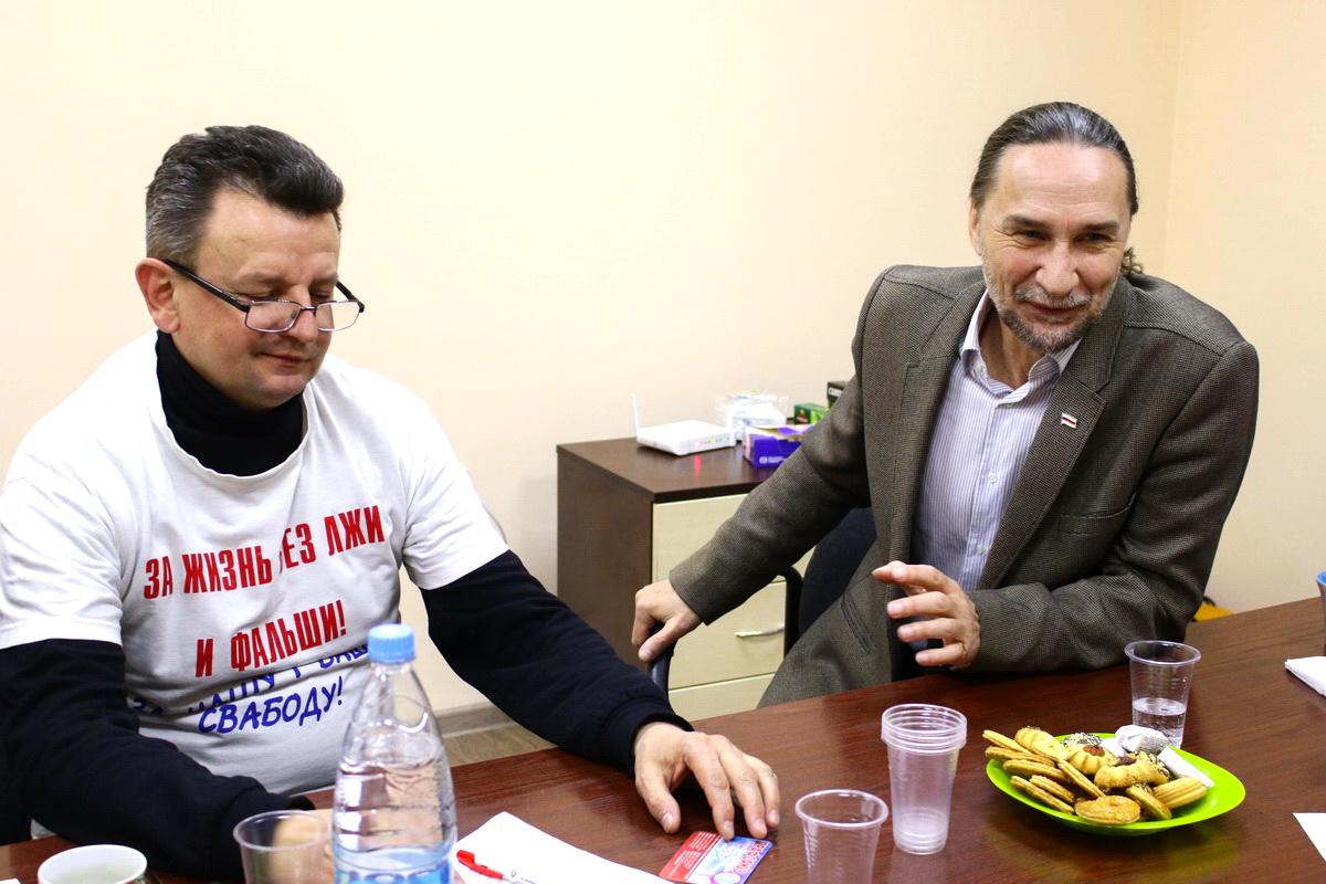 Григорий Грык (слева) и Юрий Казакевич