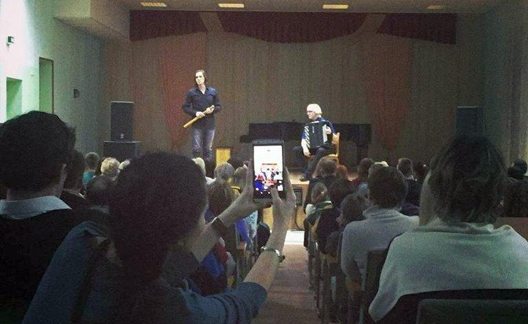На концерте. Фото: http://orsha.eu