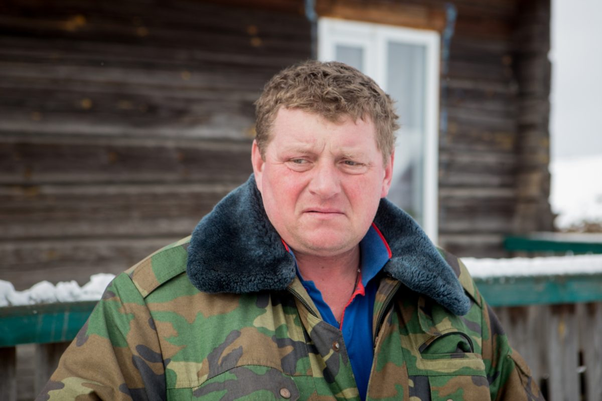 Сосед убийцы Сергея Алиферовича Фото: svaboda.org