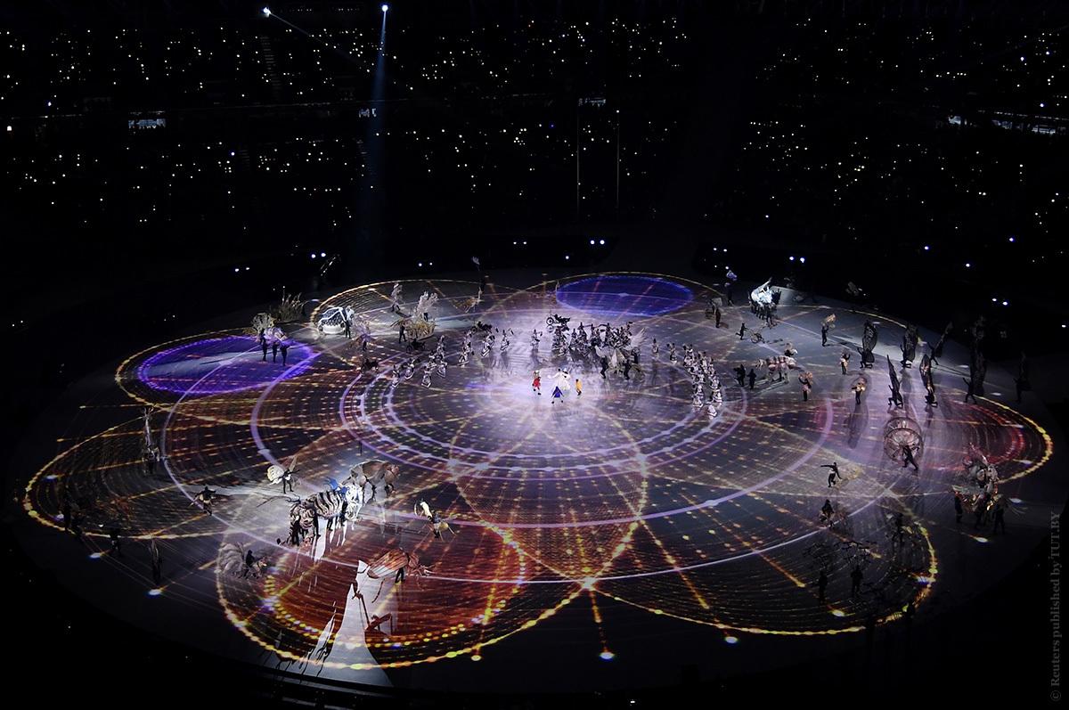 Открытие зимних Олимпийских игр. Фото: https://www.vesti.ru