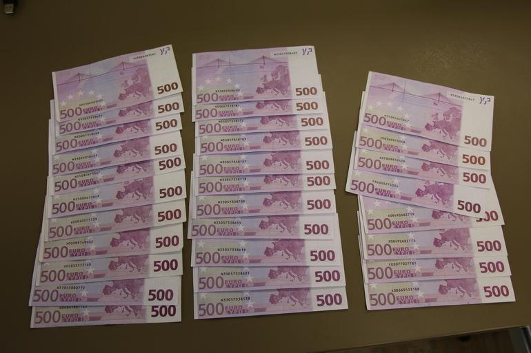 Деньги, изъятые у мошенников. Все фото: http://mvd.gov.by