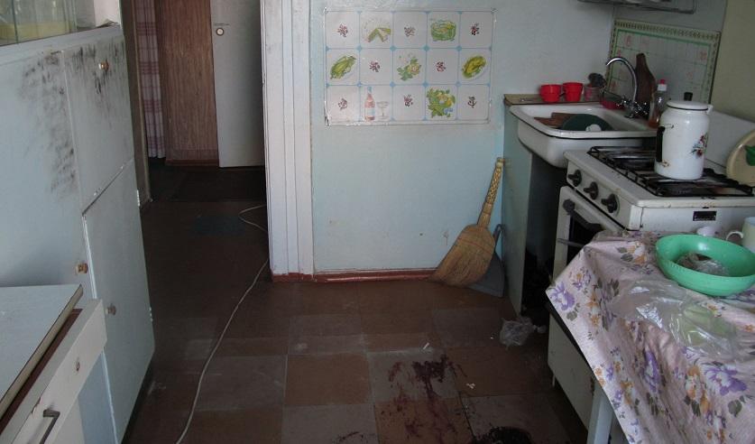 Квартира, в которой убили женщину. Фото: http://sk.gov.by