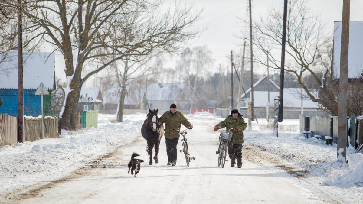 Пуховичи. Сейчас здесь проживает более 300 человек Фото: svaboda.org