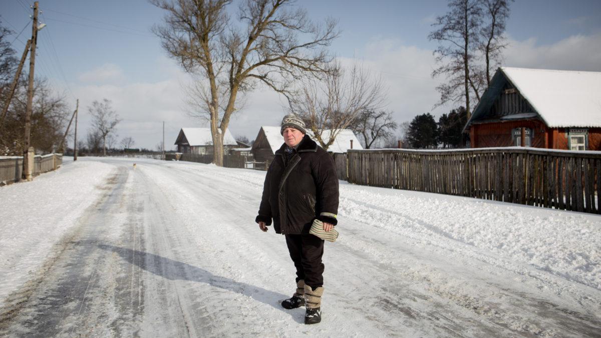 Валентина Макаревич рассказывает, что поджоги в Пуховичах продолжались и после убийства брата Фото: svaboda.org