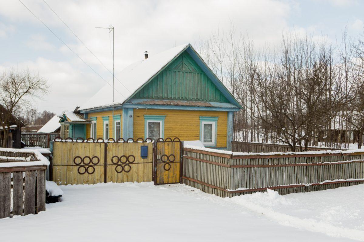Дом, где живет один из убийц - Игорь Макаревич Фото: svaboda.org