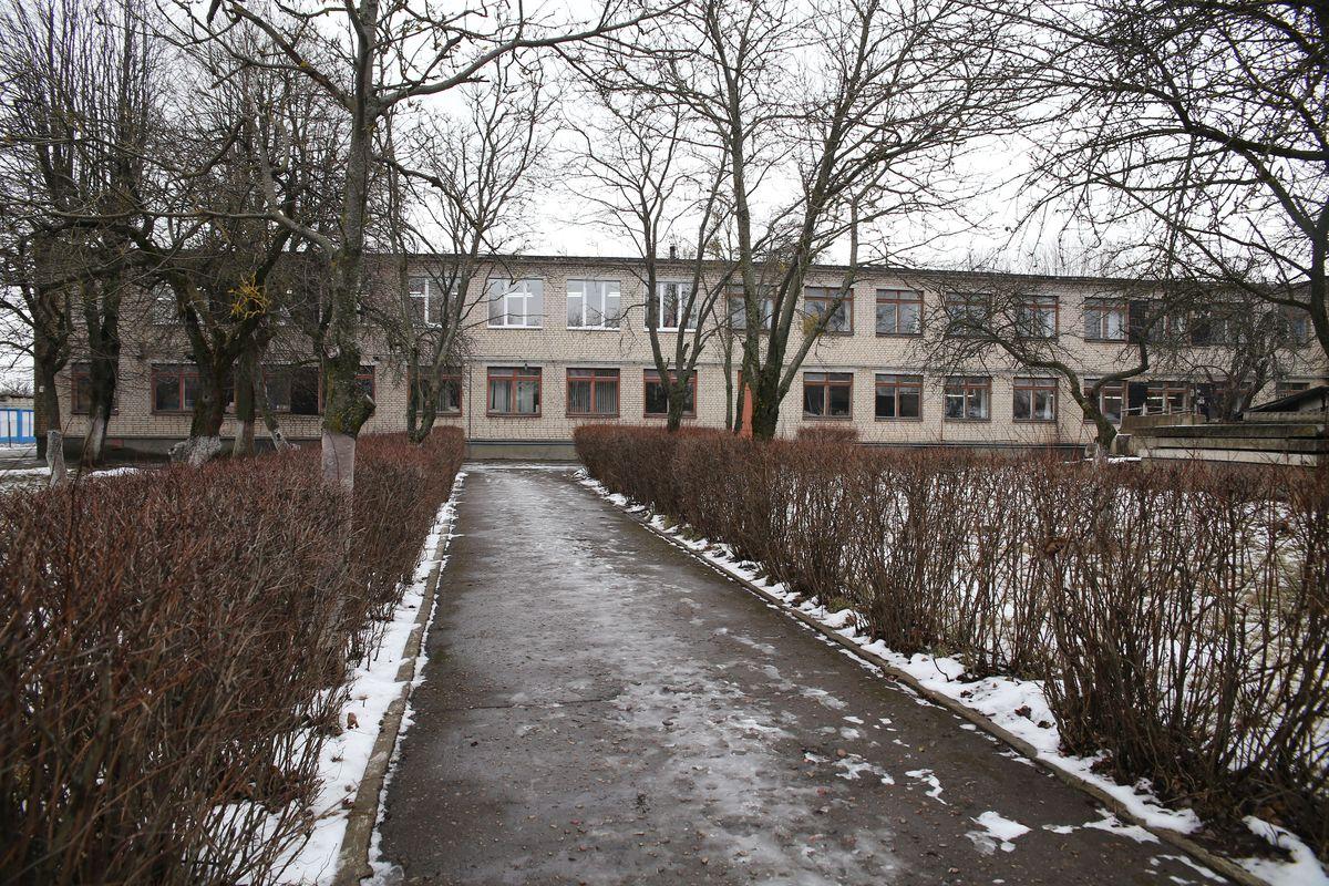 Здание Барановичского комбината надомного труда.