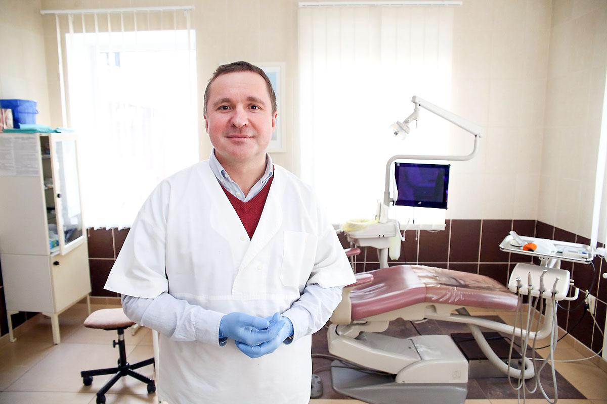 Александр Павловский, врач-стоматолог стоматологического кабинета «Карат-дент».
