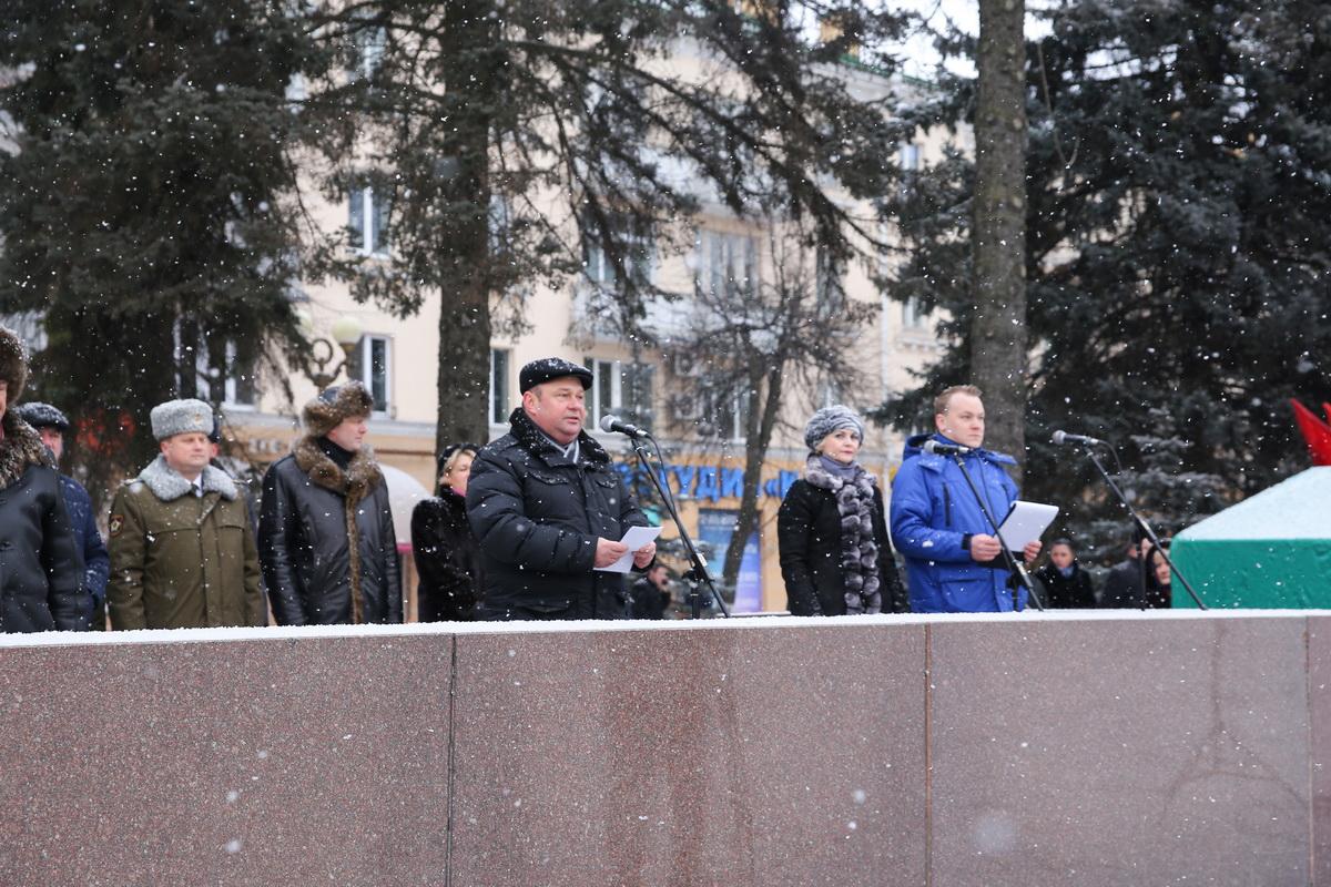 Председатель Барановичского горисполкома Юрий Громаковский выступил с приветственным словом.
