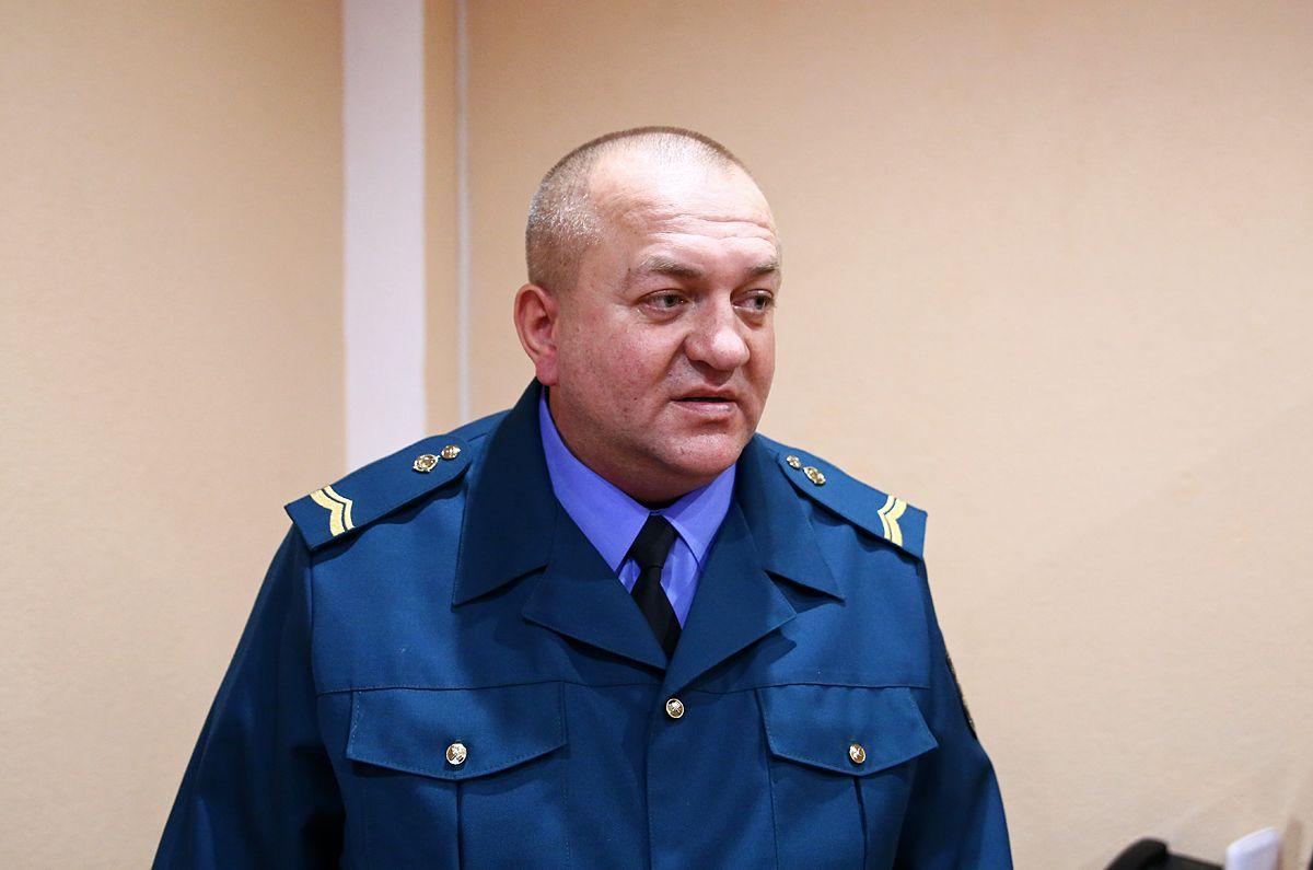 Александр Булыга, начальник регионального отдела контроля на платных дорогах в городе Барановичи.