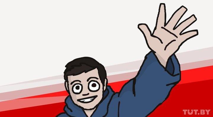 Автопортрет Артема. Рисунок с личной страницы во «ВКонтакте».