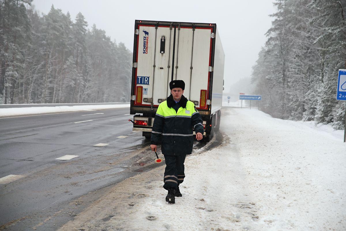 Александр Шуляк, специалист регионального отдела контроля на платных дорогах «Барановичи».