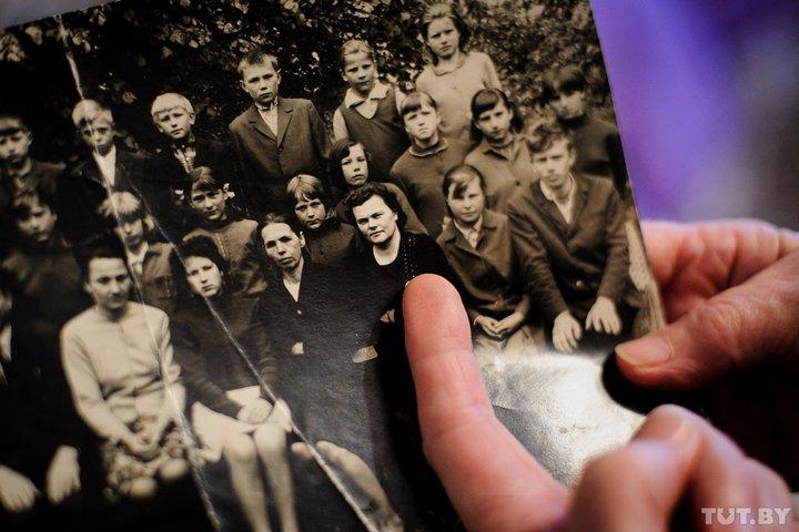 Елена Желнерович, будущая теща Александра Лукашенко, в 1969 году. Ольга Чуешкова рассказывает, что какое-то время после отъезда из Александрийской школы с ней переписывалась. Фото: TUT.by.