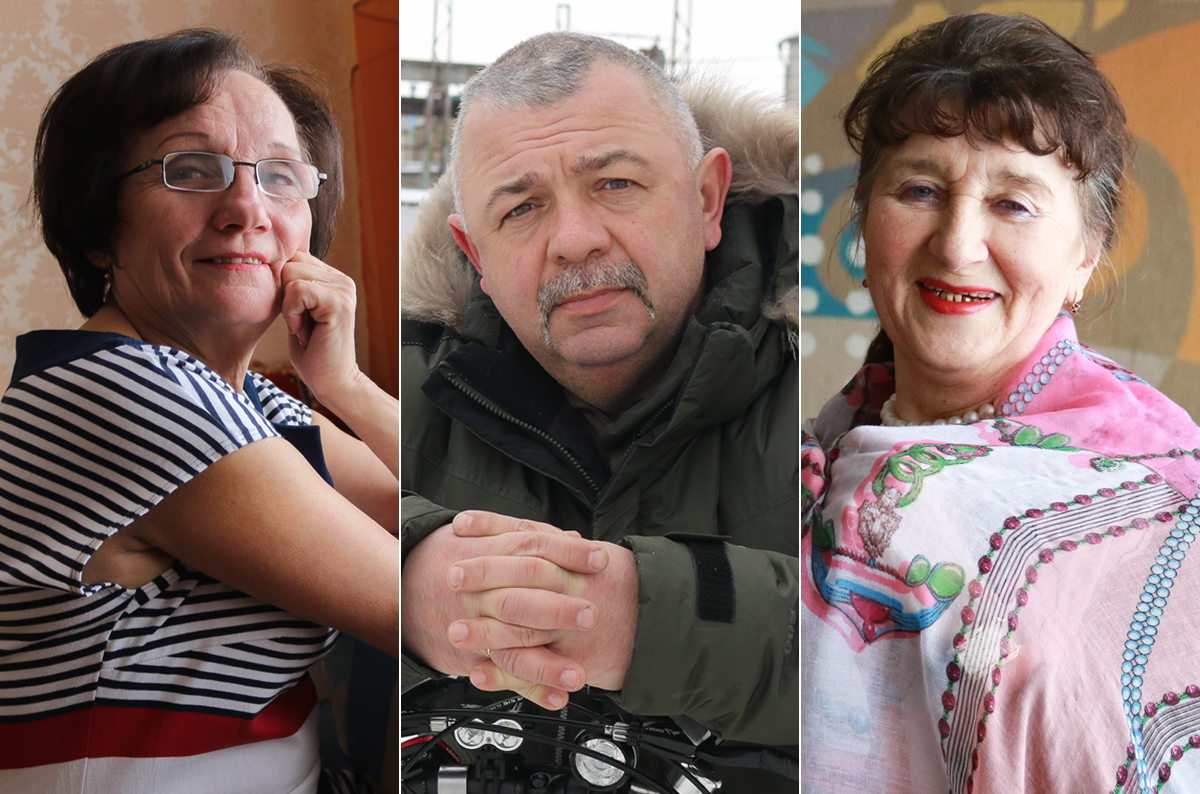 Валентина Марутик, Андрей Макар, Кристина Рябич.