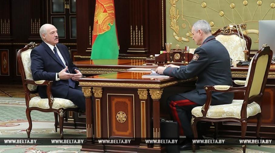 Лукашенко о несанкционированной акции 100-летия БНР Бардак начинается с этого