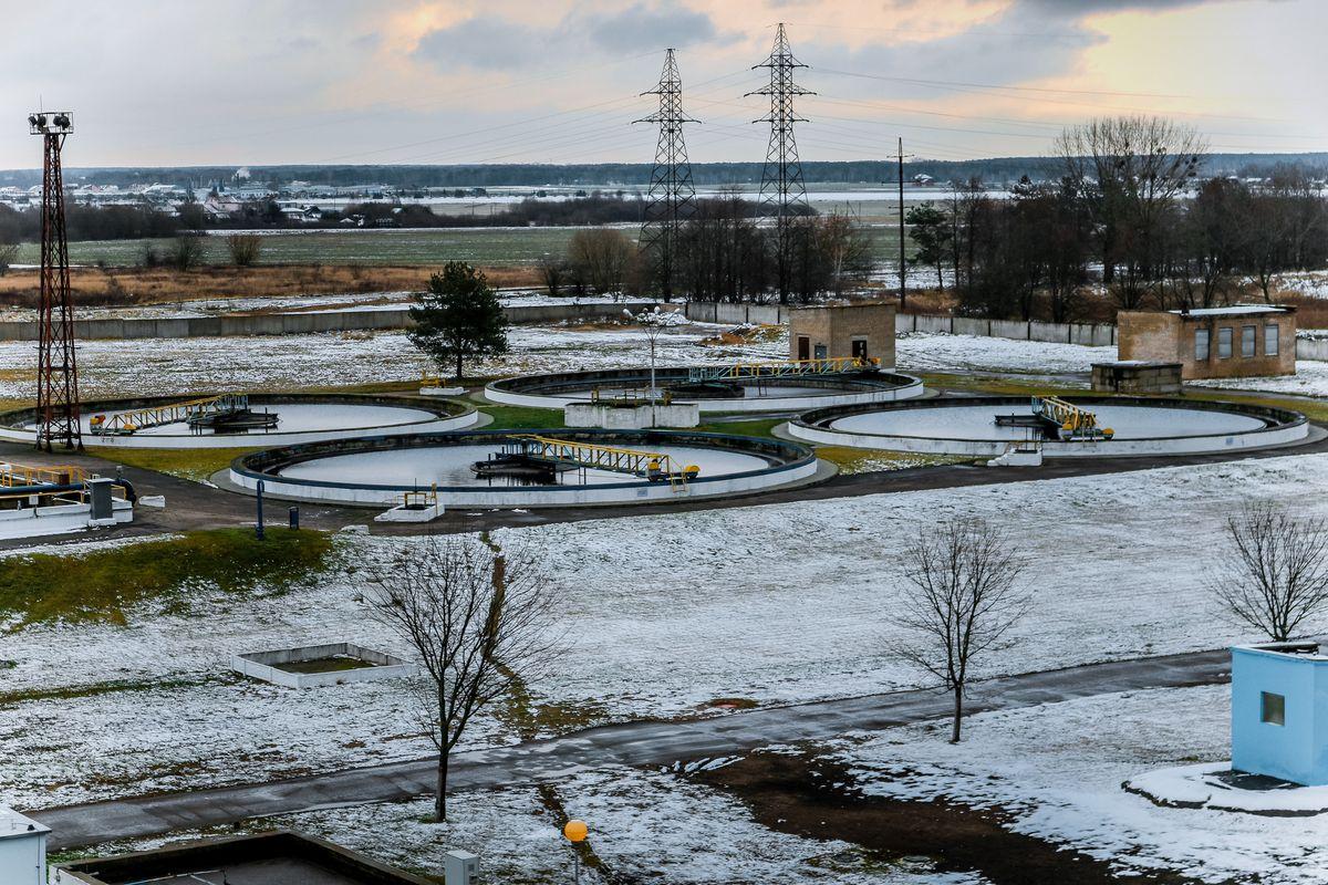 Очистные сооружения Барановичского Водоканала. Фото: Александр ЧЕРНЫЙ