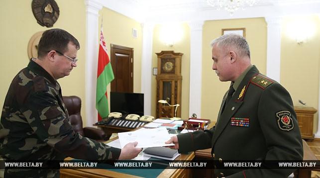Андрей Равков и Станислав Зась. Все фото: belta.by