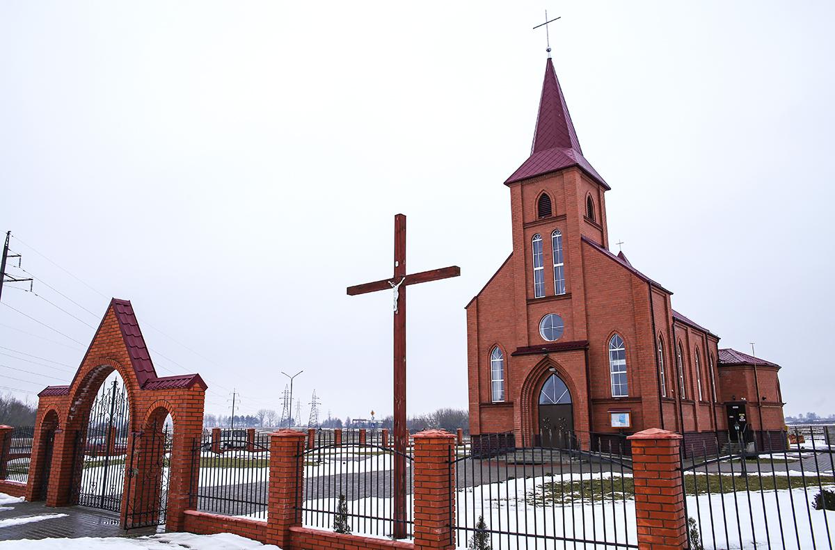 Костел Иоанна Павла II. Фото: архив Intex-press