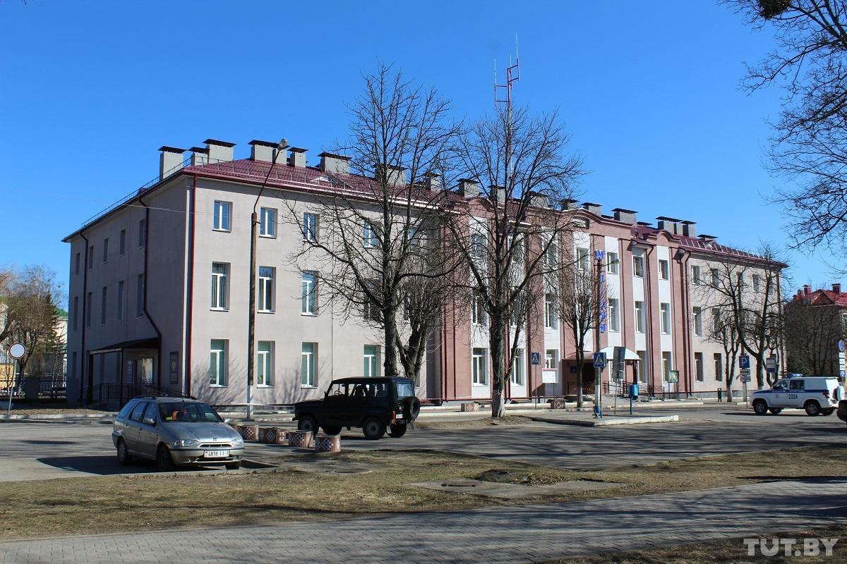 Здание Барановичского РОВД