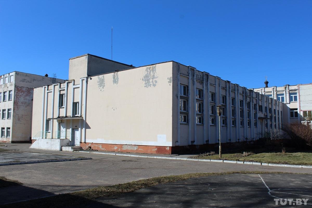Тот самый спортзал барановичской гимназии №4