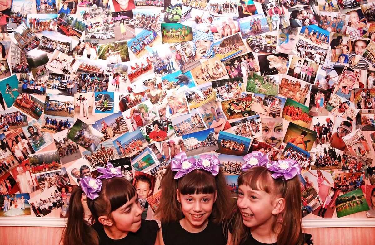 Дети Екатерины и Али посетили много стран и некоторые моменты запечатлели на фотоснимках.