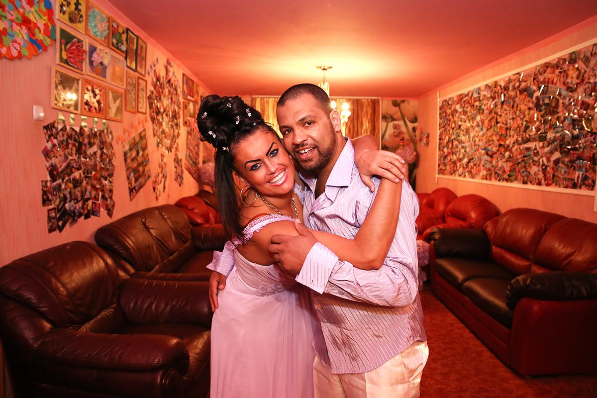 Екатерина с супругом Али.