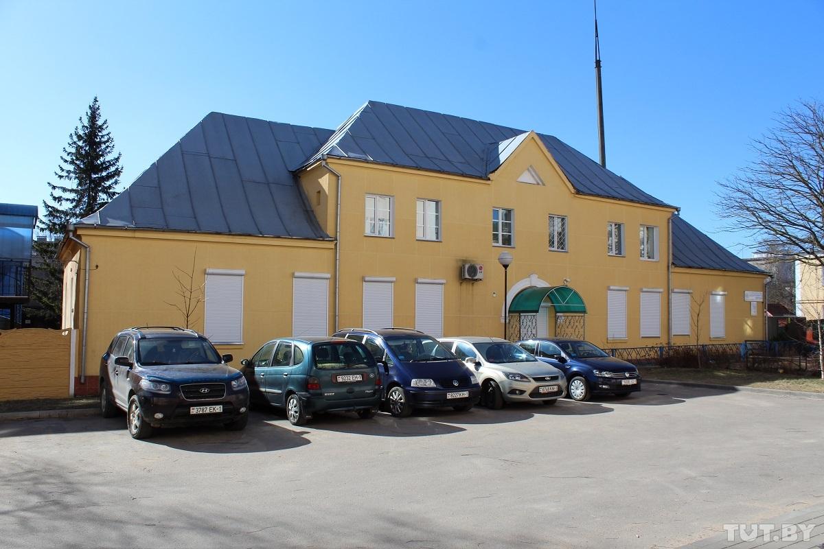 Здание барановичского отдела Департамента охраны