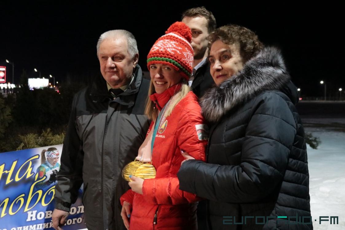 Светлана Сахоненко вместе с мамой Фото: Еврорадио