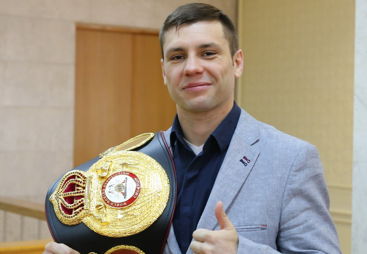 Кирилл Релих, чемпион мира WBA. Фото: Татьяна МАЛЕЖ