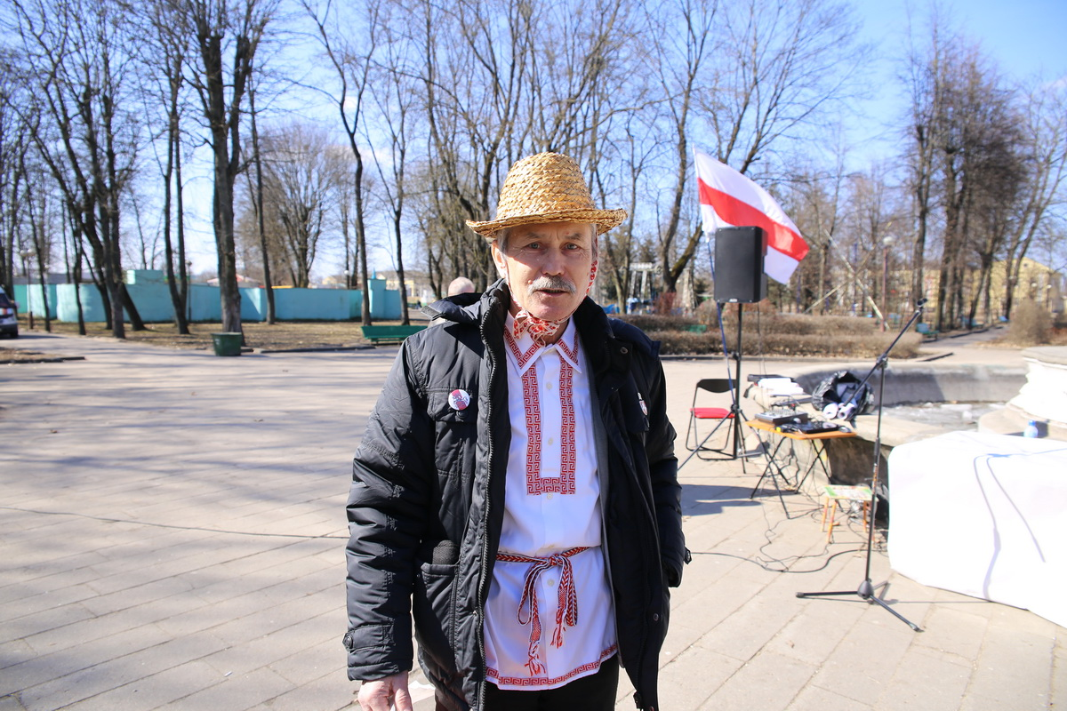 Виктор Алехнович.  Фото: Татьяна МАЛЕЖ