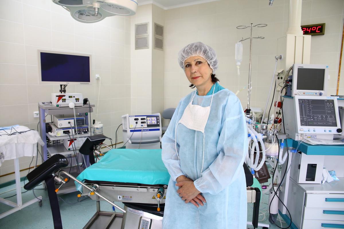 Лариса Маликова заведует гинекологическим отделением Барановичской горбольницы №2. Фото Евгений ТИХАНОВИЧ