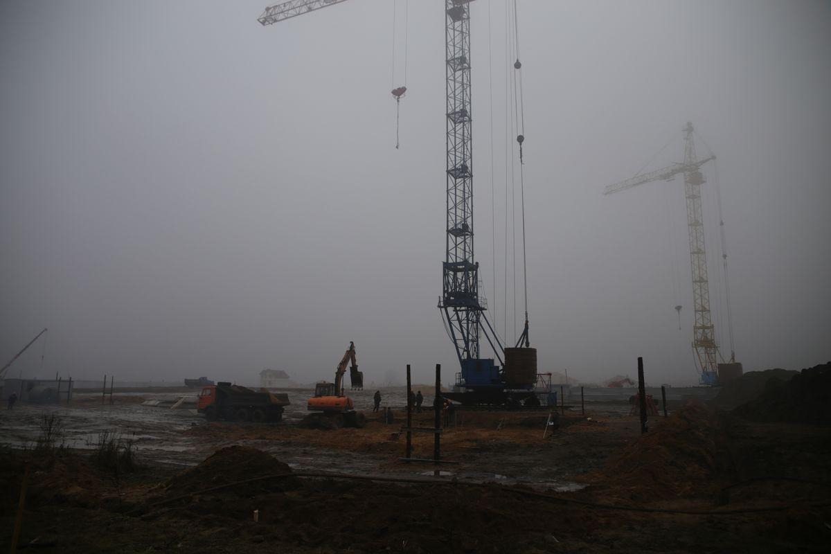 2009 год. Строительство Боровков. Фото: архив Intex-press