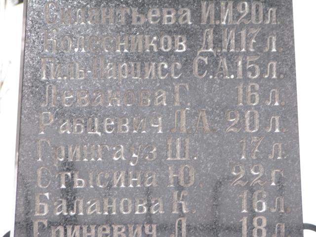 Дочери Героя Советского Союза, коменданта Клуба НКГБ Рабцевича Людмиле было 20 лет. Фото: istpravda.ru