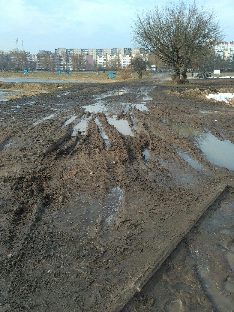 Территория около Светиловского озера. Фото: Екатерина ИСАЕВИЧ