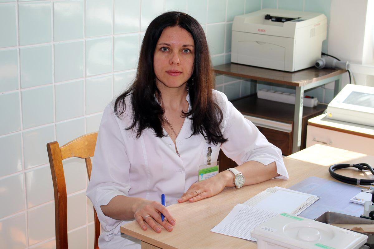Врач-аллерголог Светлана Ковалевская. Фото: Евгений ТИХАНОВИЧ