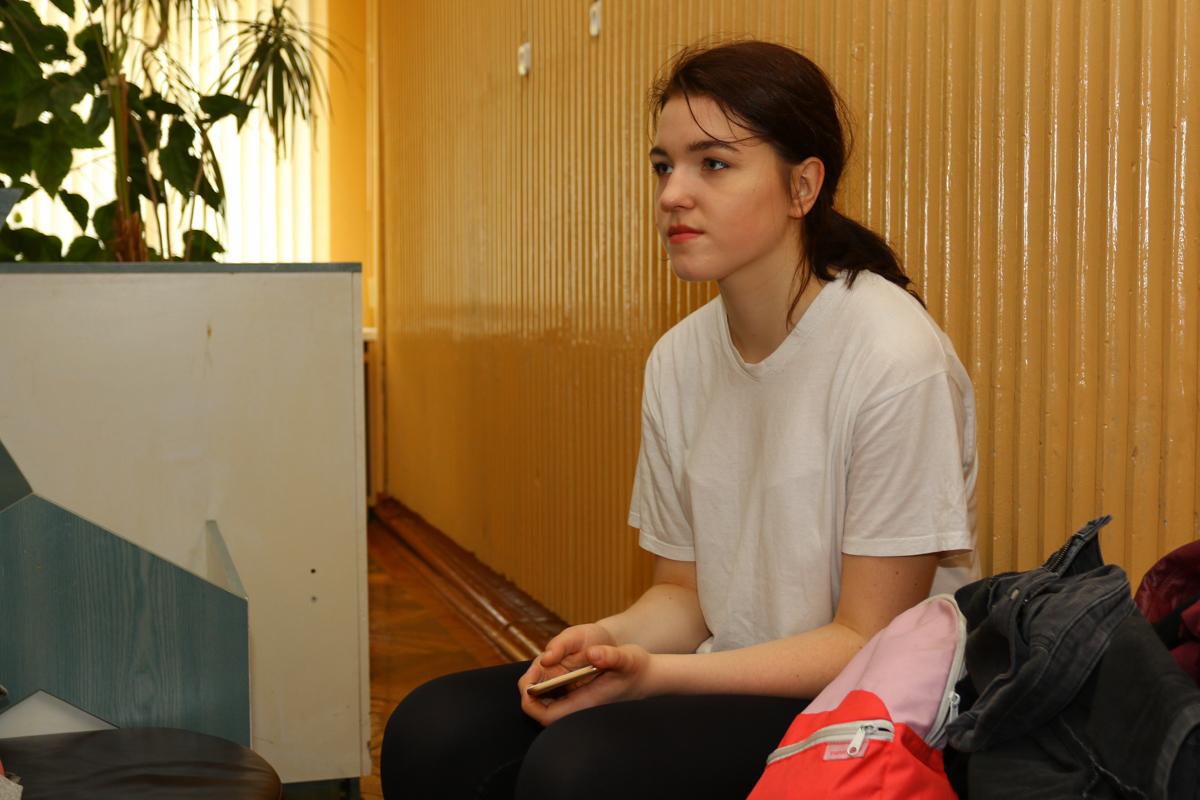 Актриса Молодежной театральной труппы «В!СМЫСЛЕ» Анастасия Сусекина.