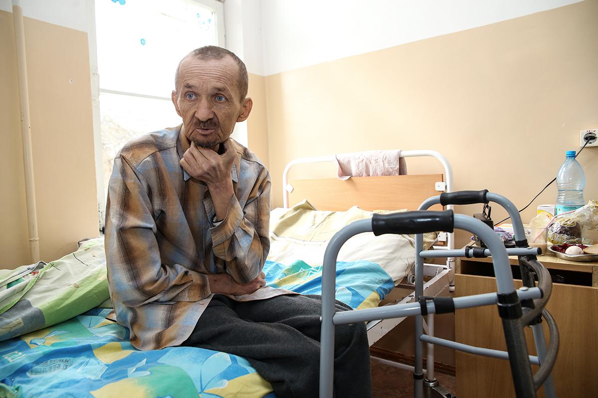 61-летний Александр Мохнач. Фото: Евгений ТИХАНОВИЧ