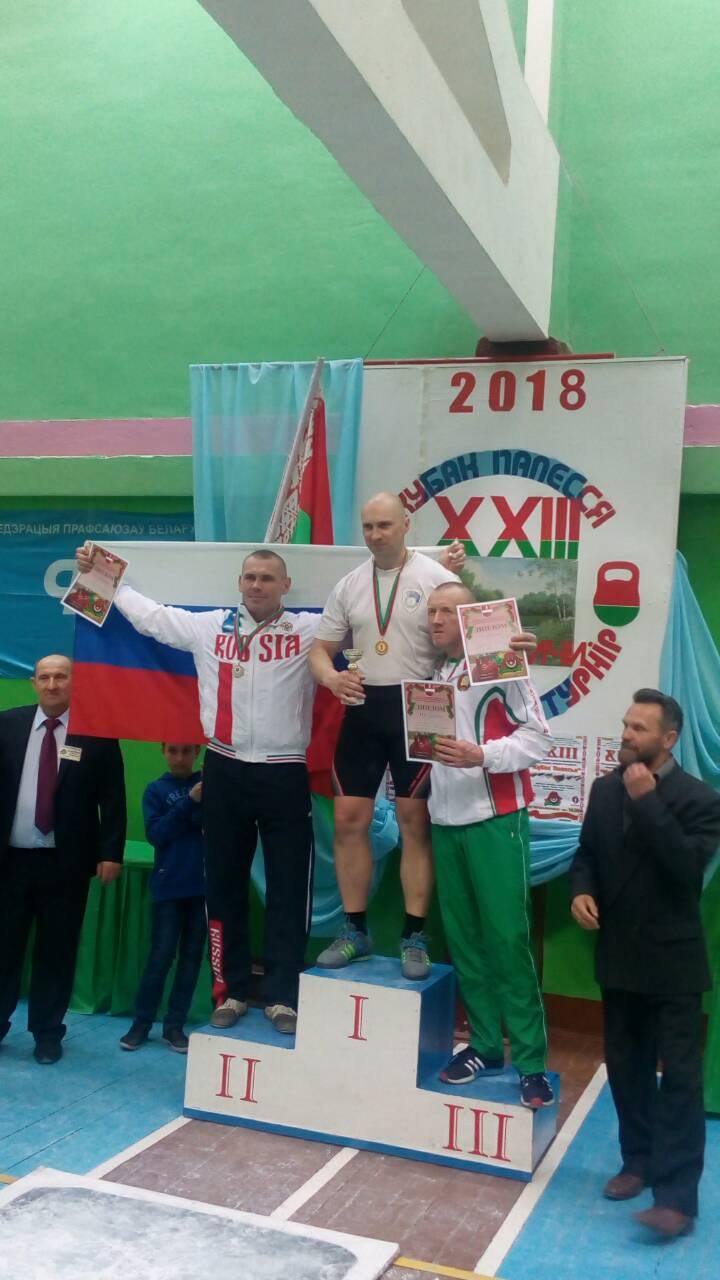 Андрей Лагунский (в центре) на верхней ступени пьедестала. Фото: архив Андрея ЛАГУНСКОГО