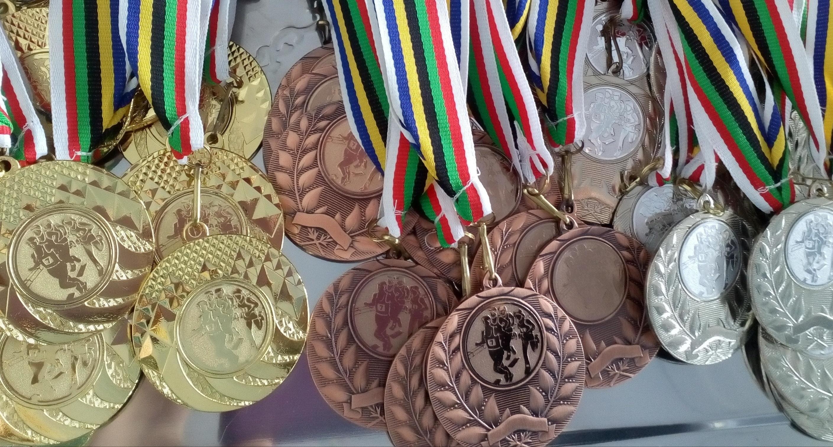 Медали турнира. Фото: СДЮШОР №2