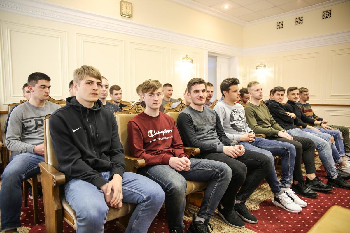 Игроки ФК «Барановичи». Фото: Татьяна МАЛЕЖ