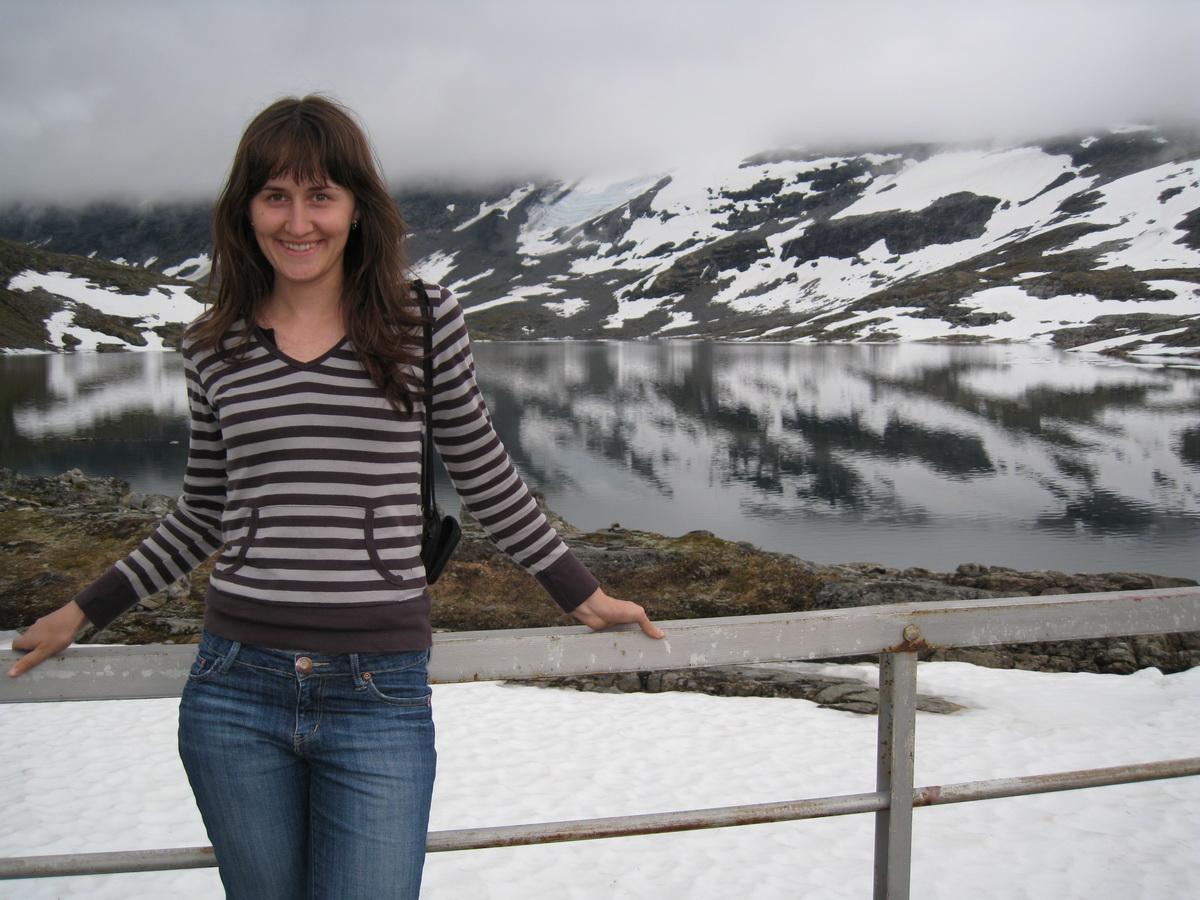 Уроженка города Барановичи  Анастасия Мелос почти семь лет живет в Норвегии.  Фото: архив семьи